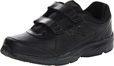 Buy New Balance Mens MW411 Hook and Loop Walking Shoe by New Balance