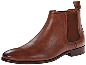 Aldo Men's Lawrence Chelsea Boot, Cognac, 42 EU/9 D US