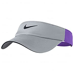 Nike Ladies Dri-FIT Tech Visors Wolf Grey/Grape