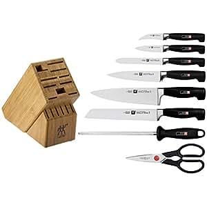 Zwilling JA Henckels Four Star 9-Piece Knife Set with Block