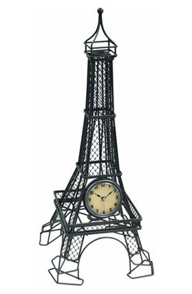 The Eiffel Tower Table Top Clock