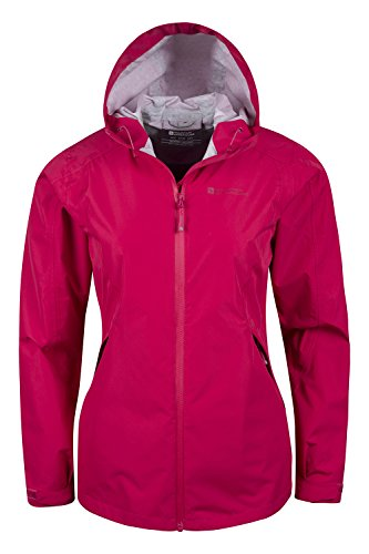 Mountain Warehouse Gale Wasserdichte 2,5-Damenjacke mantel Beerenton DE 44 (EU 46) -