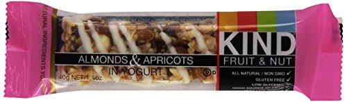Kind Bars, Almonds & Apricots in Yogurt, 1.6 oz (Kind Bars Yogurt And Apricot compare prices)