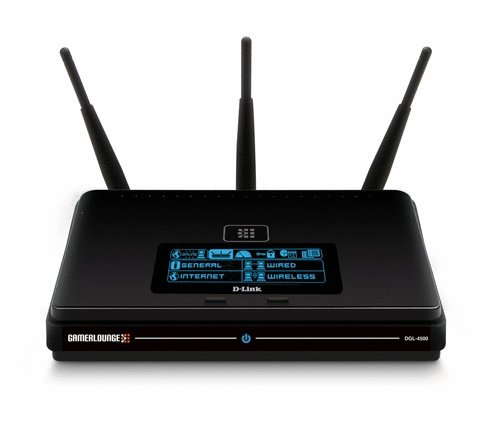 D-Link DGL-4500 Extreme-N Selectable Dual-Band Gaming Router