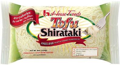 Tofu Shirataki Noodles 10 Bags Angel Hair Shape (Spaghetti Shirataki compare prices)