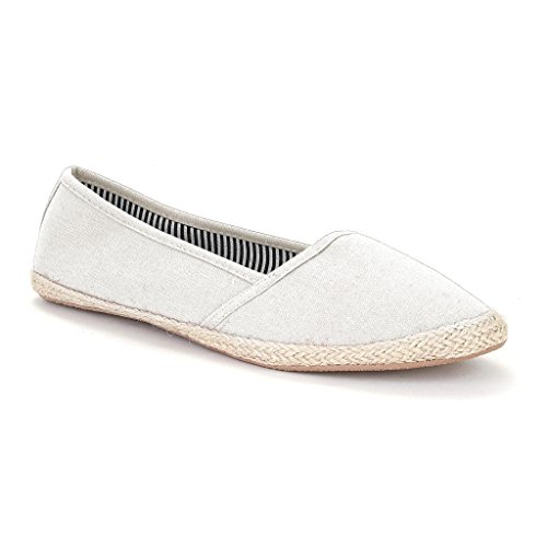 06. Twisted Women's Jute Extra Light Espadrille Flats