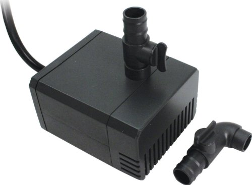 Aquascape 91026 320 GPH Statuary and Fountain Pump, 5.6-Feet, Black