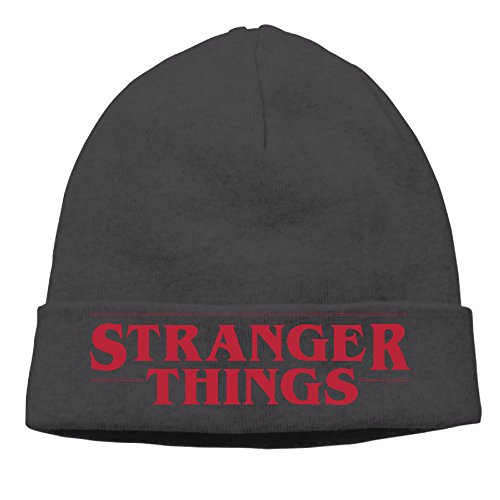 Stranger Things Logo Winter Knit Beanie