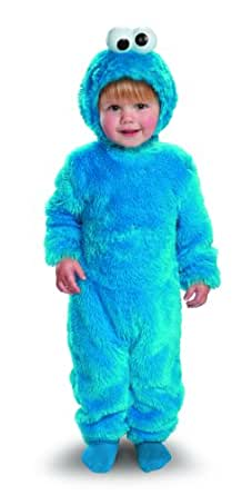 Disguise Sesame Street Light Up Cookie Monster Toddler Costume, 2T