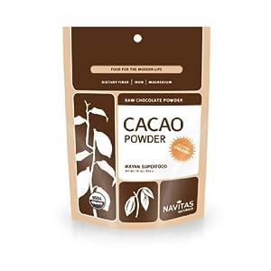 Navitas Naturals Organic Raw Cacao Powder, 16-Ounce Pouches, 64 Ounces