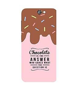 Chocolate Love HTC One A9 Case