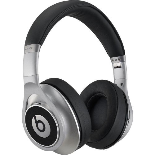 Beats Executive Over-Ear Headphones (Silver)