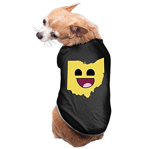 funny-emoji-face-ohio-state-map-pet-shirt-dog-t-shirt-medium-black