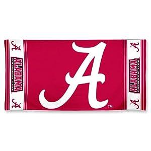 Buy MLB Alabama Crimson Tide Fiber Reactive Beach Towel by MLB