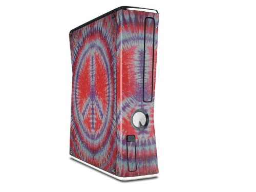 все цены на Tie Dye Peace Sign 105 Decal Style Skin for XBOX 360 Slim Vertical (OEM Packaging) онлайн