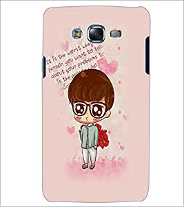 PrintDhaba Cartoon D-2764 Back Case Cover for SAMSUNG GALAXY ON 7 (Multi-Coloured)