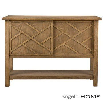 Cheap angelo:HOME Dresden Console Table in Drifted Oak Finish (CK4553)
