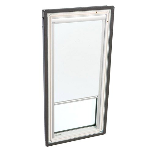 Solar blinds velux dsd c01 1025 white solar powered for Velux solar powered blinds