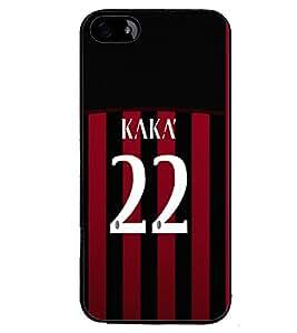 PRINTVISA Football Kaka Brazil Case Cover for Apple iPhone 5S