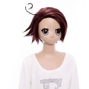 SureWells Cosplay Short Hetalia Brown Korea Wigs Costume Wigs