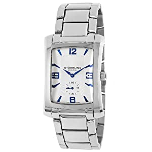 Stuhrling Original Men's 144B.32112 Gatsby Society Date Silver [Watch] Stuhrling
