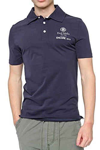 Fred Mello Maglietta Polo ENCORE 2012, uomo, Colore: Blu, Taglia: M