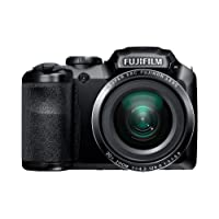 Fujifilm FinePix S4800 16MP Point-and-Shoot Digital Camera (Black) with 4GB SD Card, Carry Case, Battery Charger...