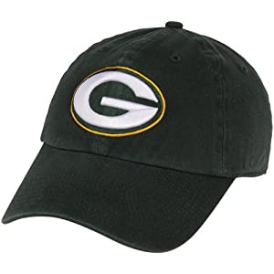 Mens 47 Brand Green Bay Packers Franchise Slouch Fitted Hat from '47 Brand