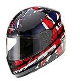 TankedRacingT159 フルフェイスヘルメット フルフェイス TankedT159 Tanked RacingT159 おしゃれ バイクヘルメット bike helmet バイク用品 内装洗濯可能 おすすめ シールド付 レディース メンズ(サイズM:55cm~58cm)