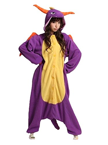 DAYAN Pajamas Anime Costume Adult Animal Onesie Jade Dragon Cosplay