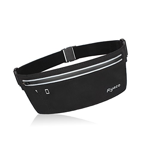 Ryaco [Slim] R902 Running belt, Outdoor Sports Sweatproof Reflective Waist Pack, Fitness Workout Belt, Race Belt, Fanny Pack, Workout Pouch for iPhone 7/7 Plus,6S/6S Plus,5/5S/SE,S7/S7 Edge (Louis Vuitton Shoes For Women compare prices)
