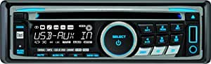 Dual XDM6350 AM/FM/CD MP3/WMA Receiver with Front USB Input
