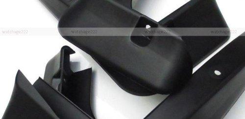 Black Auto parts 4PCS Mudguard Splash Guard Mud