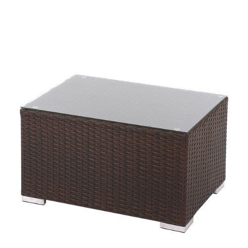 Beistelltisch-mit-Glasplatte-fr-Poly-Rattan-Sofa-Siena-modulare-Gastronomie-Qualitt-braun