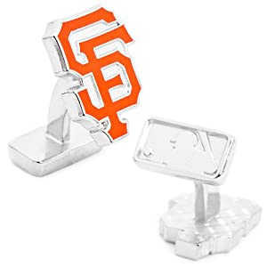 MLB Palladium Plated Cufflinks MLB Team: San Francisco Giants by Cufflinks Inc.