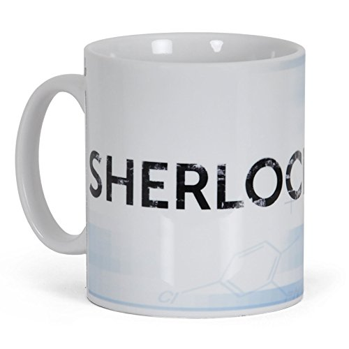 GB eye, Sherlock, Sherlock, Tazza