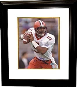 Donovan McNabb signed Syracuse Orange 16x20 Photo Custom Framed- Steiner Hologram