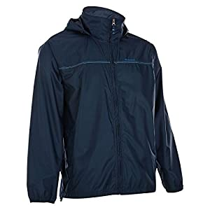 Effective backup protection from the wind and rain during your HIKES. Backup jacket with zip fastening. This waterproof and breathable jacket folds down into its own pocket to be easily carried anywhere with its built-in belt.