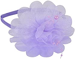 Sanjog Purple Glossy Hair Band For Girls
