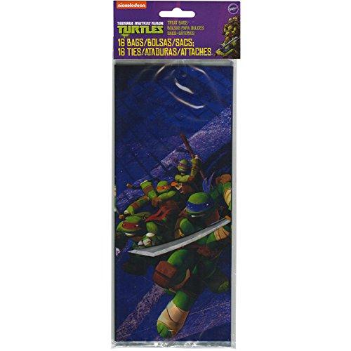 Wilton 1912-7744 16 Count Teenage Mutant Ninja Turtles Treat Bags (Ninja Turtles Candy compare prices)