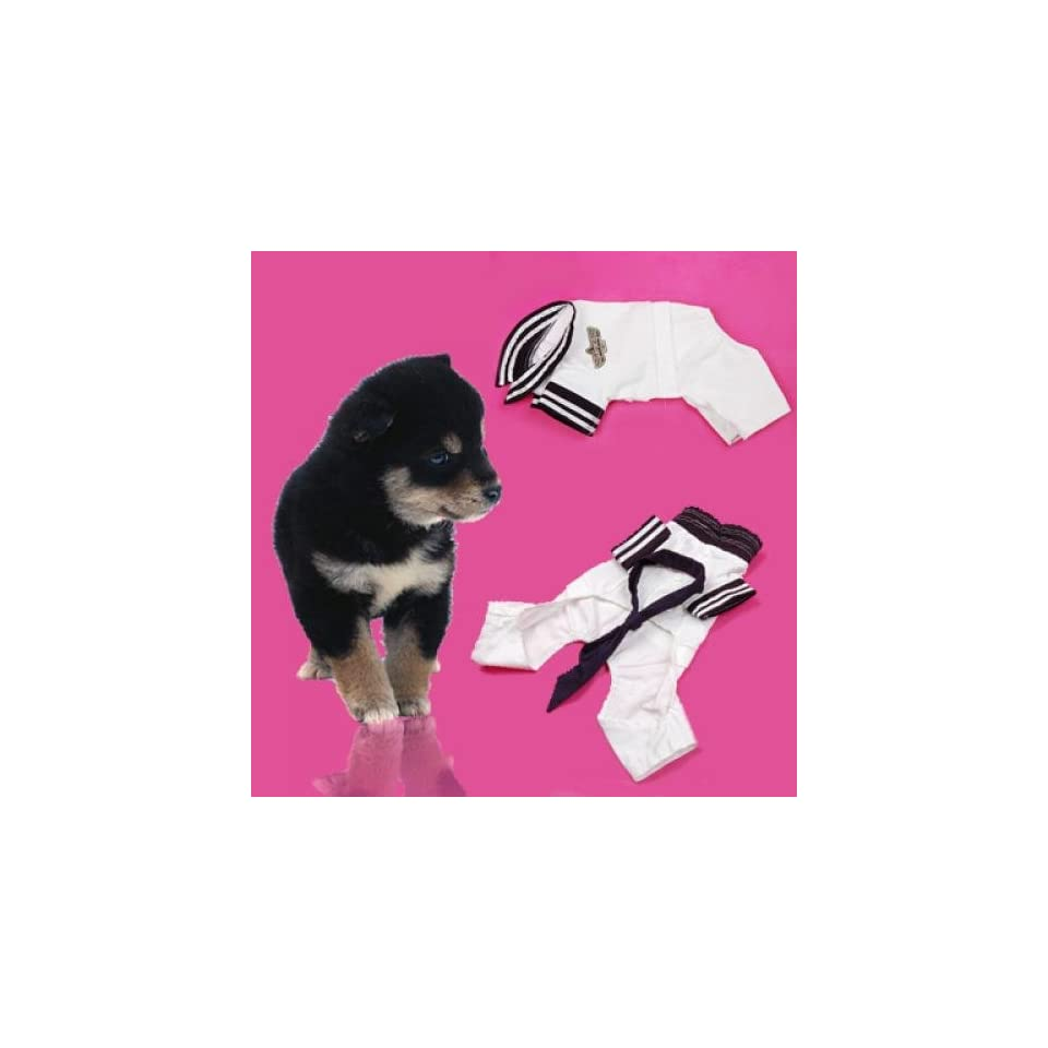 Airforce Style Pet Dog Puppy Coat Clothes Apparel Cotton S#