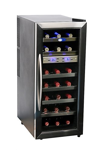 Whynter WC-211DZ 21 Bottle Dual Temperature Zone Wine Cooler