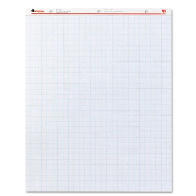 Avery(R) Conference Room Easel Pads, 27 x 34, White Paper With 1 Squares, Box Of 2 Pads