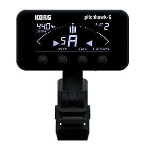 KORG AW-3G BK PitchHawk-G クリップチューナー