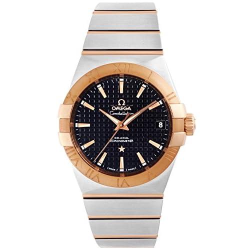 [オメガ]OMEGA 腕時計 コンステレーション ブラック文字盤 コーアクシャル自動巻 123.20.38.21.01.001 メンズ 【並行輸入品】