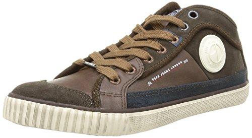Pepe Jeans Industry Half, Herren Sneaker  Braun Marron (878Brown) 40