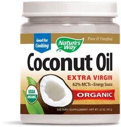 Nature's Way Organic Coconut Oil, 96 Fluid Ounces