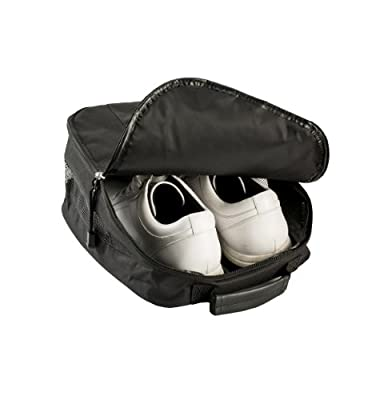 Izzo Golf #90591 Shoe Bag, Black