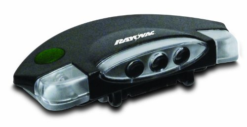 Rayovacsportsman Led 3 Mode Uv Hat Clip Light, Spclpuv-B