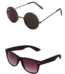 Benour BENCOM044 Combo Unisex Sunglasses